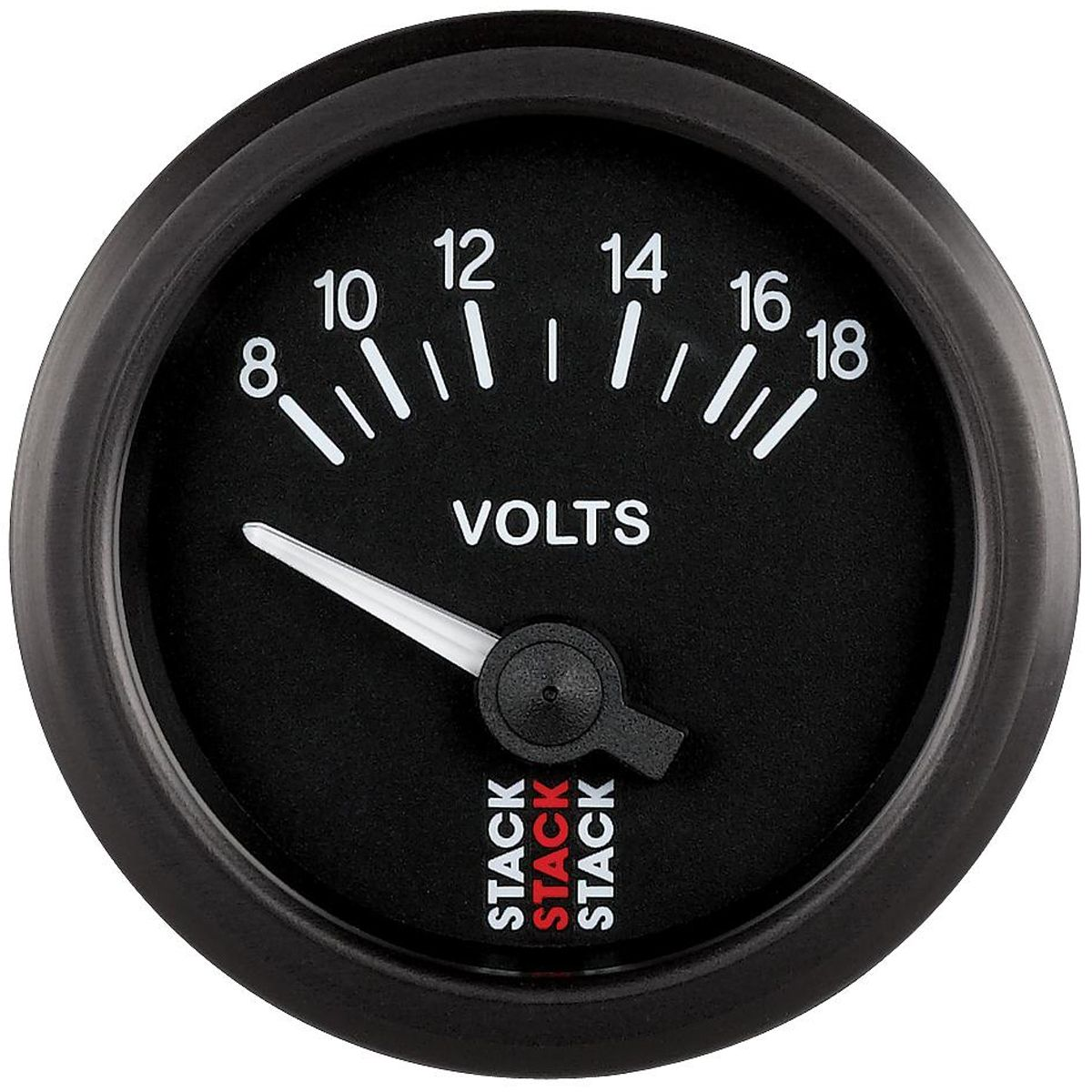 Stack Battery Voltmeter Gauge